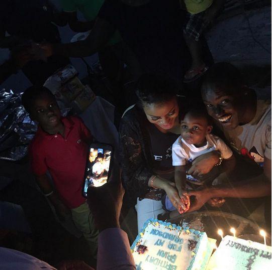 Chris & Damilola Attoh with Son - BellaNaija - August 2015