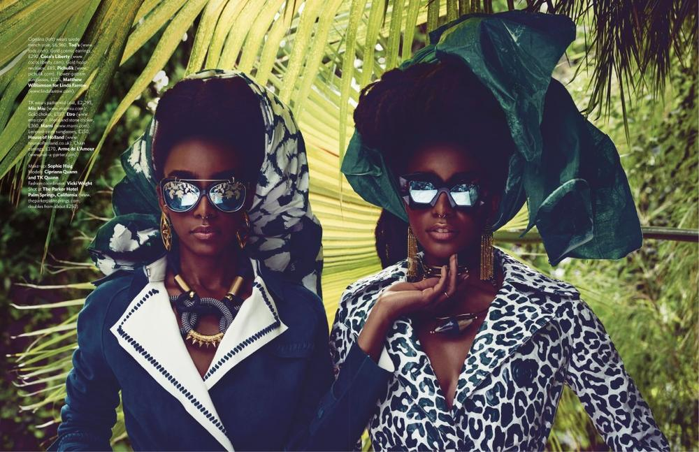Cipriana and TK Quann for Condé Nast Traveller UK - BellaNaija - August 2015