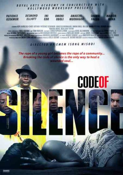 Code Of Silence - Poster. redjpg
