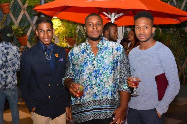 [L-R] Denola Grey, Noble Ezeala & Adebayo Oke Lawal