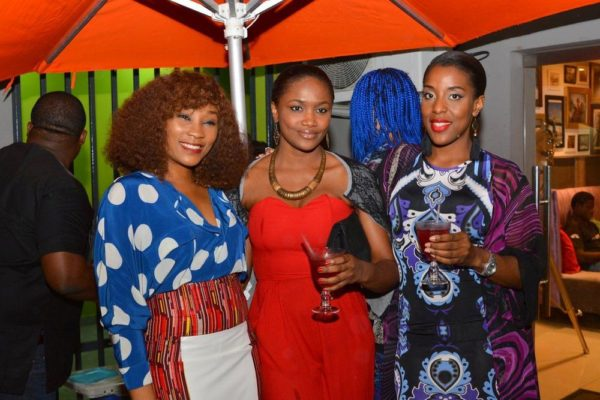 [L-R] Ijeoma Jibunoh, Onah Nwachukwu & Funmi St Mathew-Daniel
