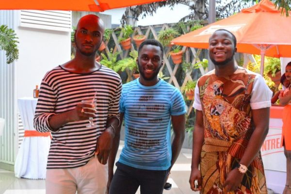 [L-R] Keside Anosike, Kachi & Ayodeji Rotinwa