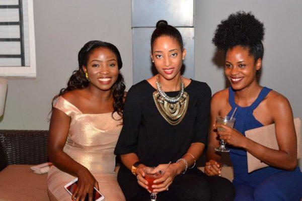 [L-R] Nimide Ogbuen, Samantha Dimka & Nikki Ayansi