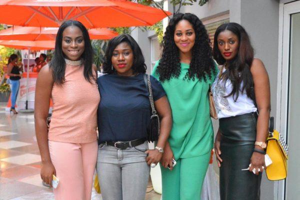 [L-R] Zina Anumudu, Funke Babs-Kufeji, Sonia & Knonye Nwagbor