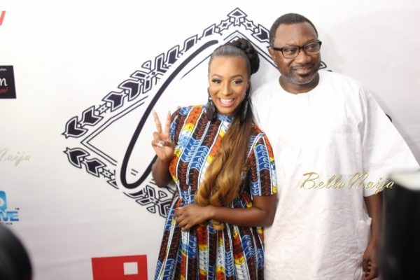 DJ Cuppy & Dad, Femi Otedola