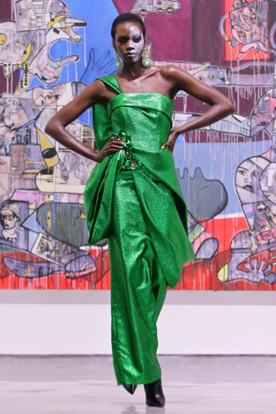 Ethereal Allure Celebrated South African Designer David Tlale Showcases At Mercedes Benz Fashion Week Cape Town Bellanaija