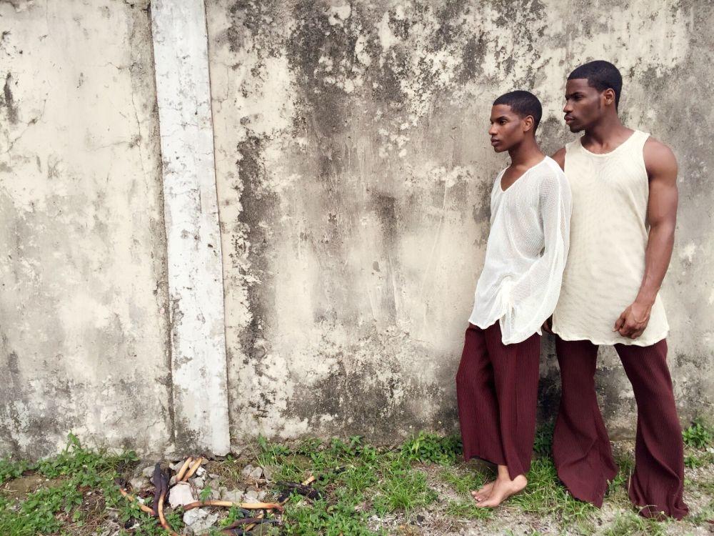 Denola Grey and Ademide Adepetun in Orange Culture - Bellanaija - August001