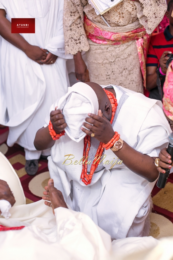 Dolapo Oni & Gbite Sijuwade Traditional Wedding - August 2015 - BellaNaija Weddings - Atunbi -0482