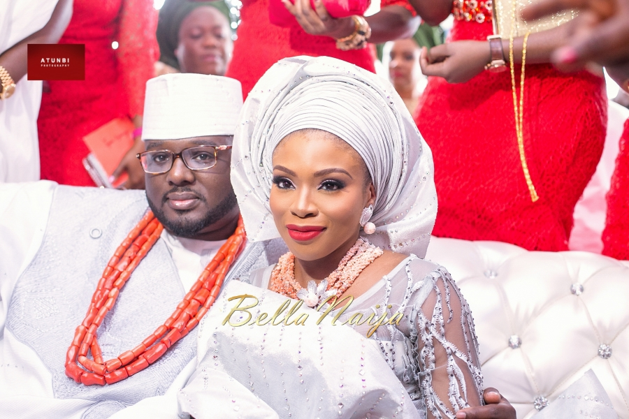 Dolapo Oni & Gbite Sijuwade Traditional Wedding - August 2015 - BellaNaija Weddings - Atunbi -0584