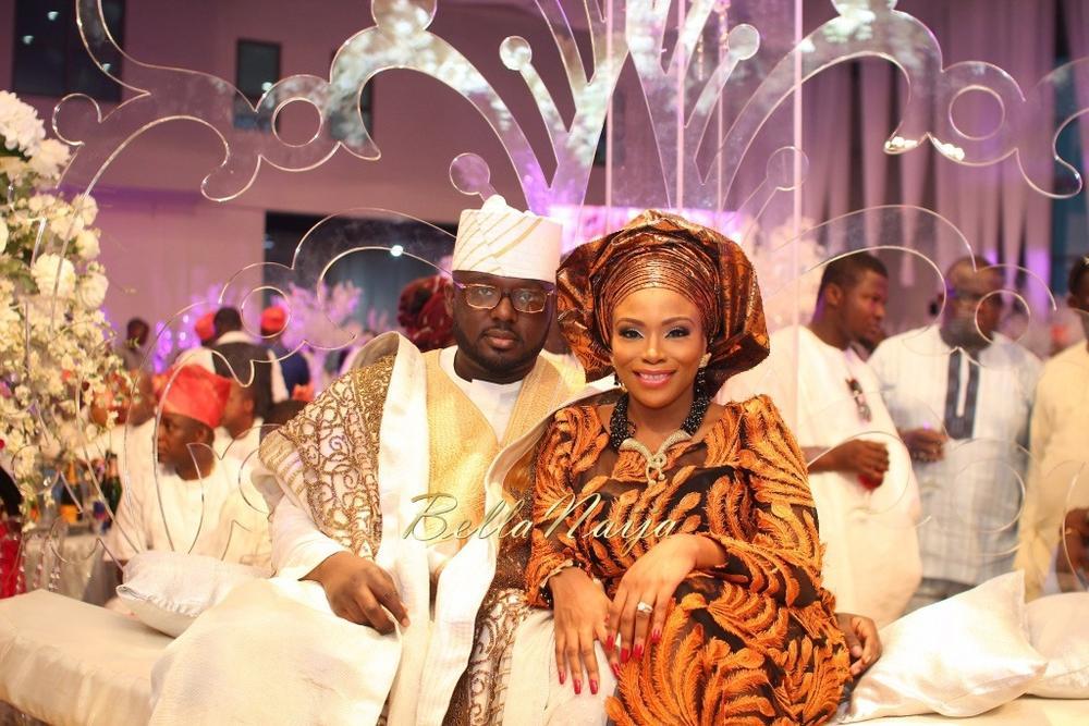 Dolapo Oni & Gbite Sijuwade's Traditional Wedding - August 2015 - Lagos, Nigeria - BellaNaija004