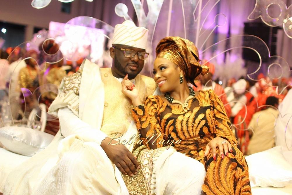 Dolapo Oni & Gbite Sijuwade's Traditional Wedding - August 2015 - Lagos, Nigeria - BellaNaija018