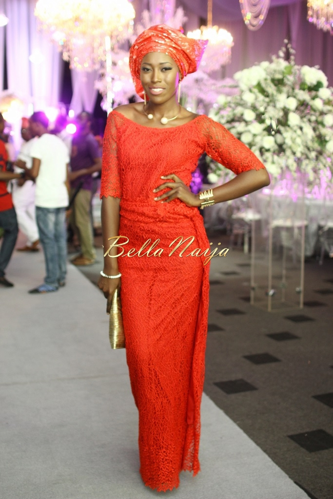 Dolapo Oni & Gbite Sijuwade's Traditional Wedding - August 2015 - Lagos, Nigeria - BellaNaijaInsigna Media-003