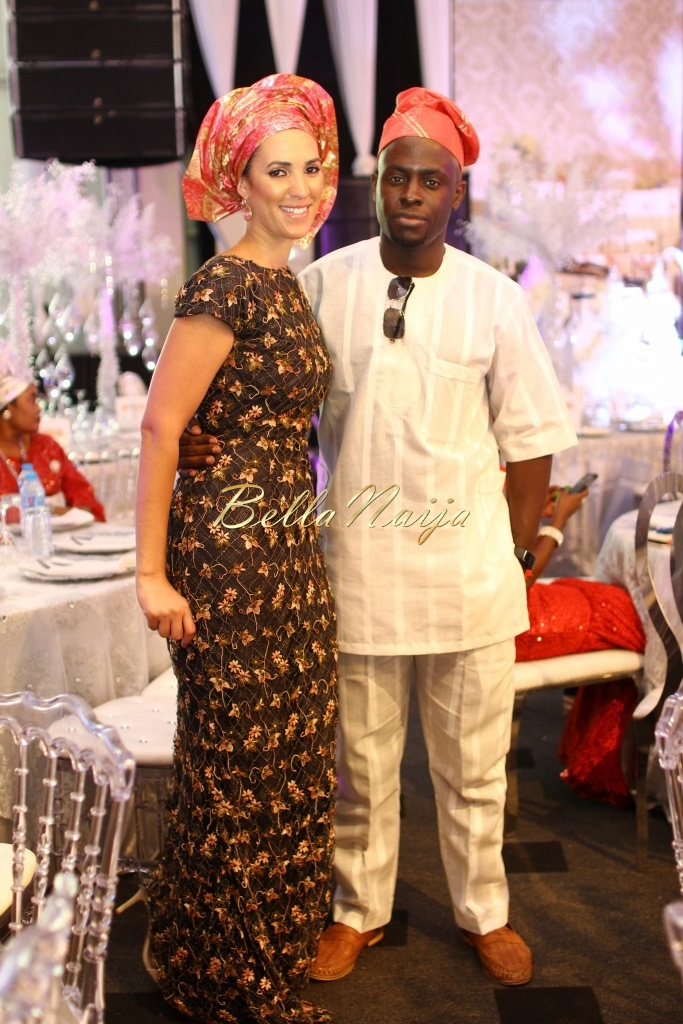 Dolapo Oni & Gbite Sijuwade's Traditional Wedding - August 2015 - Lagos, Nigeria - BellaNaijaInsigna Media-005