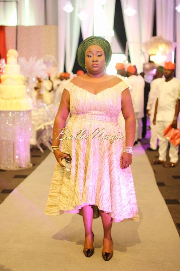 Dolapo Oni & Gbite Sijuwade's Traditional Wedding - August 2015 - Lagos, Nigeria - BellaNaijaInsigna Media-025