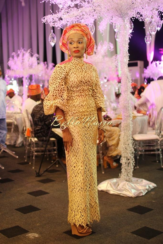 Dolapo Oni & Gbite Sijuwade's Traditional Wedding - August 2015 - Lagos, Nigeria - BellaNaijaInsigna Media-034