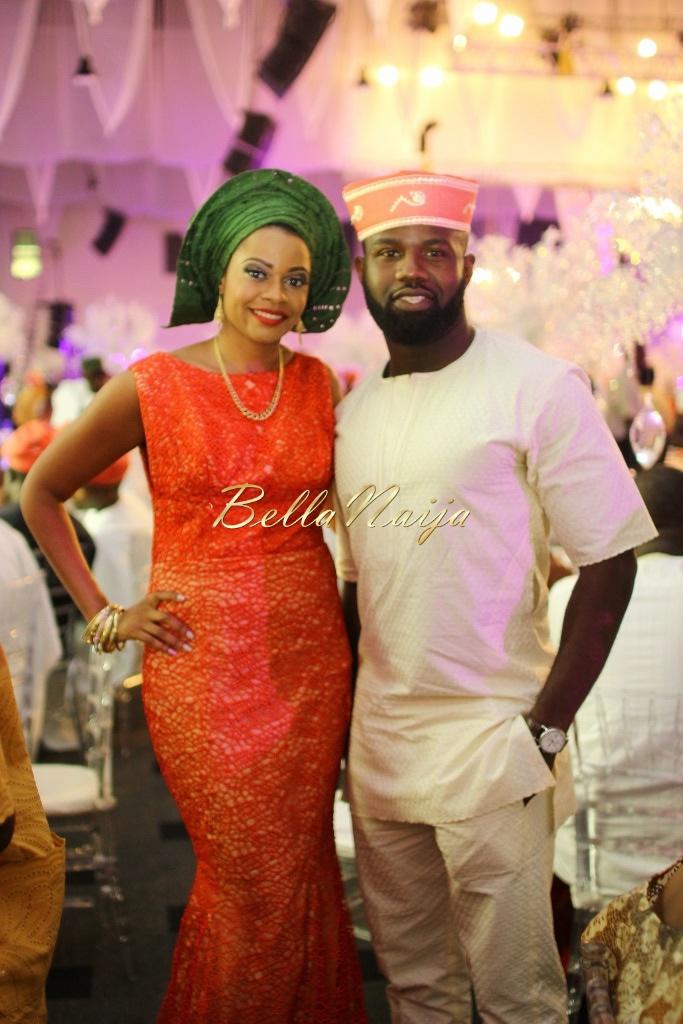 Dolapo Oni & Gbite Sijuwade's Traditional Wedding - August 2015 - Lagos, Nigeria - BellaNaijaInsigna Media-038