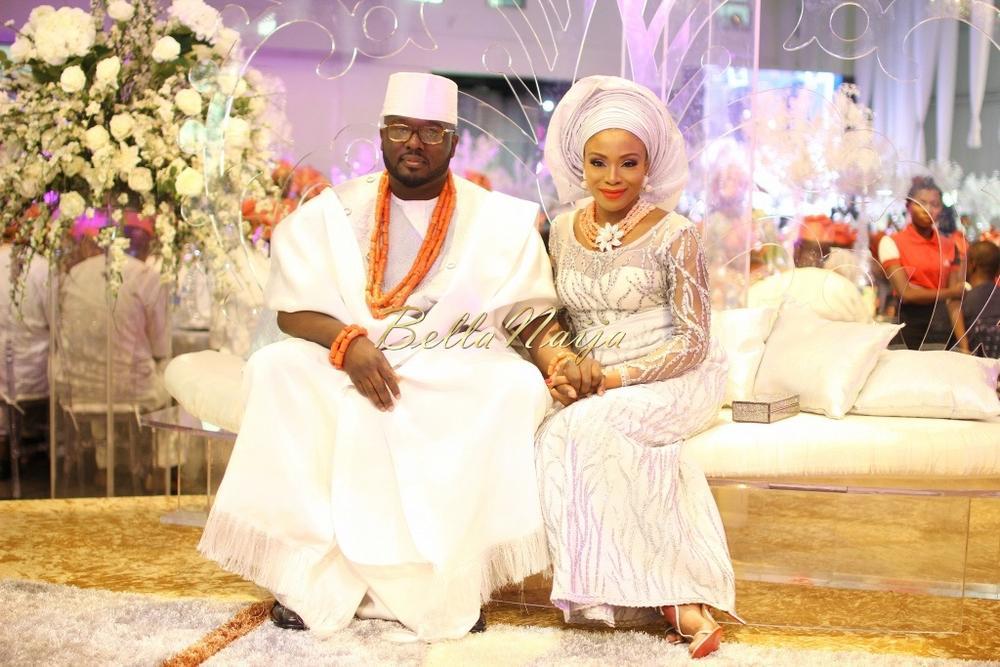 Dolapo Oni & Gbite Sijuwade's Traditional Wedding - August 2015 - Lagos, Nigeria - BellaNaijaInsigna Media-041