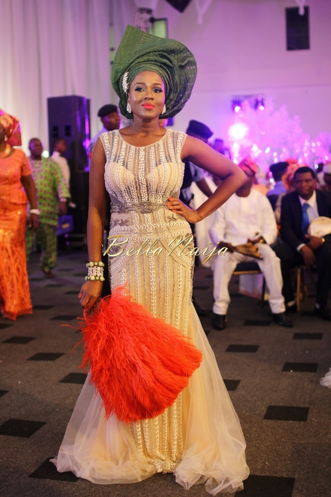 Dolapo Oni & Gbite Sijuwade's Traditional Wedding - August 2015 - Lagos, Nigeria - BellaNaijaInsigna Media-044