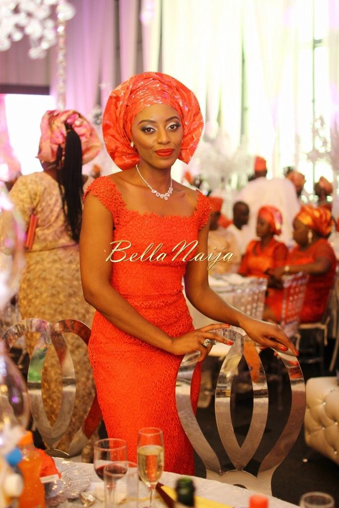 Dolapo Oni & Gbite Sijuwade's Traditional Wedding - August 2015 - Lagos, Nigeria - BellaNaijaInsigna Media-058