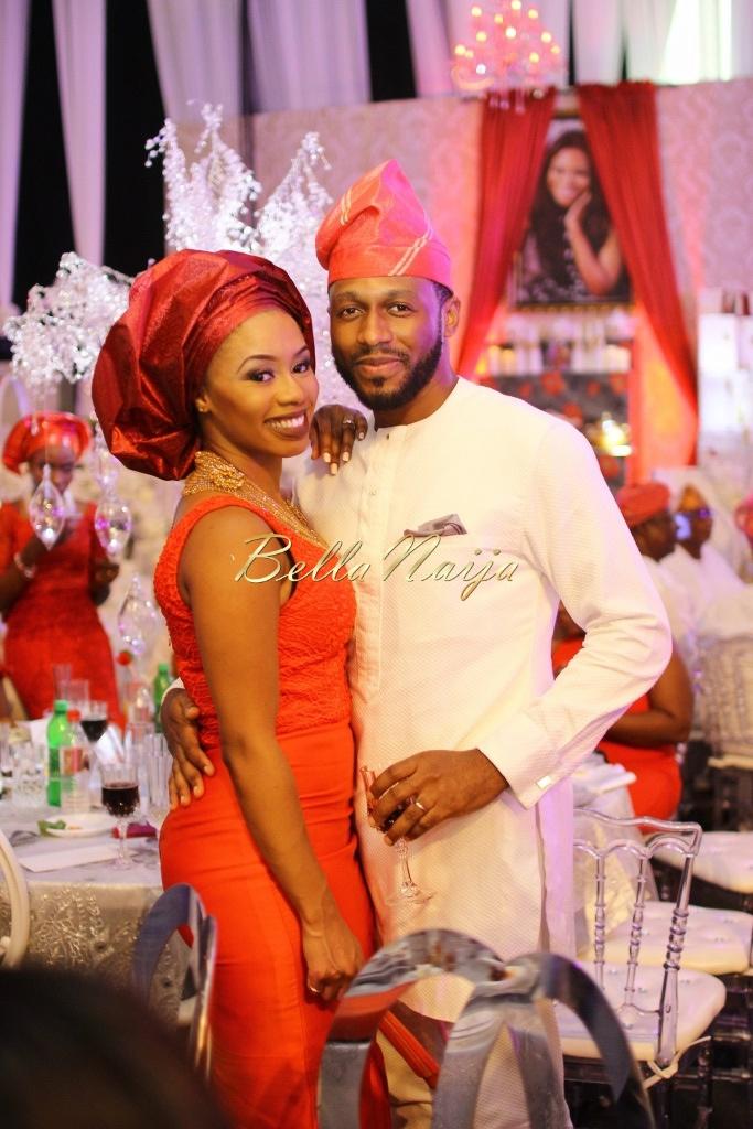 Dolapo Oni & Gbite Sijuwade's Traditional Wedding - August 2015 - Lagos, Nigeria - BellaNaijaInsigna Media-063