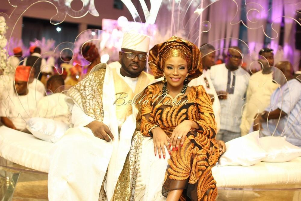 Dolapo Oni & Gbite Sijuwade's Traditional Wedding - August 2015 - Lagos, Nigeria - BellaNaijaInsigna Media-065