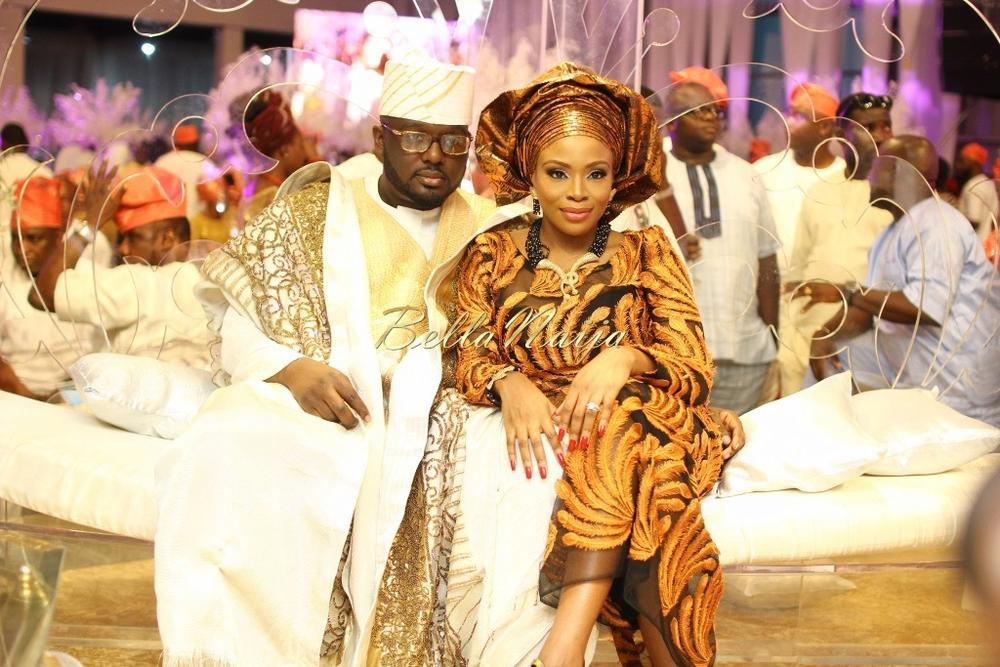 Dolapo Oni & Gbite Sijuwade's Traditional Wedding - August 2015 - Lagos, Nigeria - BellaNaijaInsigna Media-066
