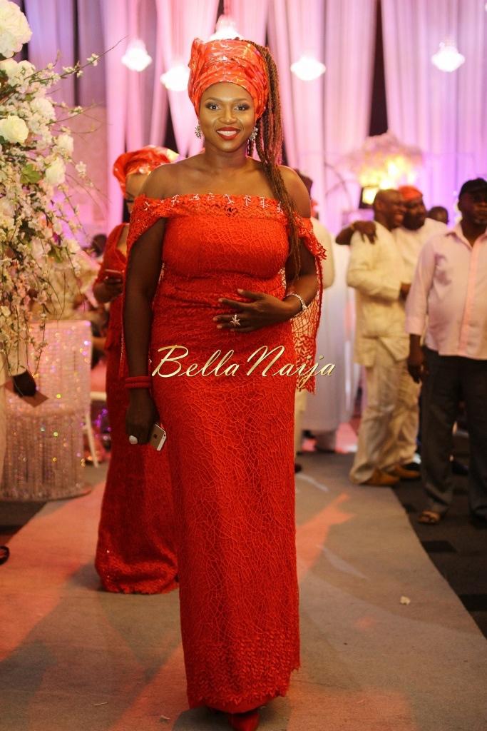 Dolapo Oni & Gbite Sijuwade's Traditional Wedding - August 2015 - Lagos, Nigeria - BellaNaijaInsigna Media-068