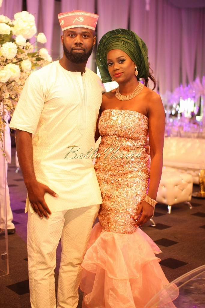 Dolapo Oni & Gbite Sijuwade's Traditional Wedding - August 2015 - Lagos, Nigeria - BellaNaijaInsigna Media-079