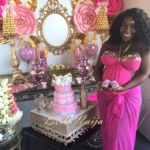 Dunnie O's Baby Shower - Pink and Gold001