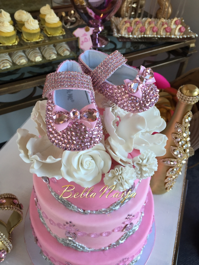 dunnie o s gorgeous poolside pink gold baby shower