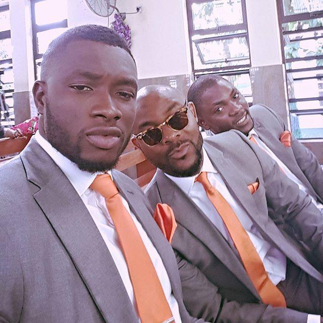 Emmanuel Ikubese at Mofe Duncan & Jessica Kakkad's Wedding