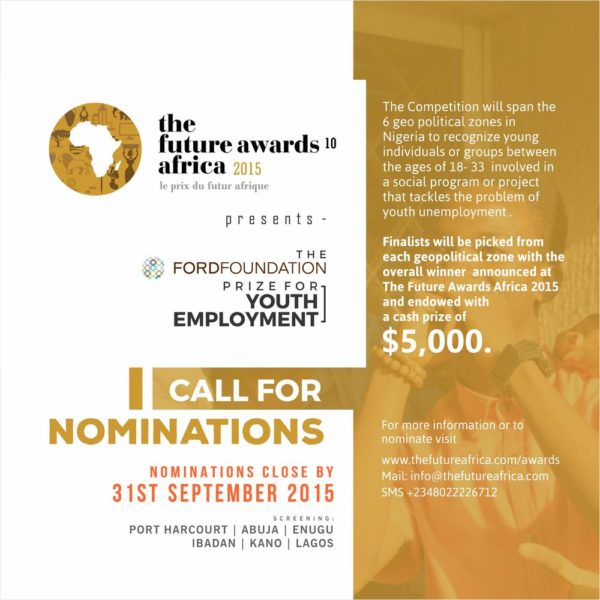 FORD FOUNDATION - BellaNaija - August - September - 2015