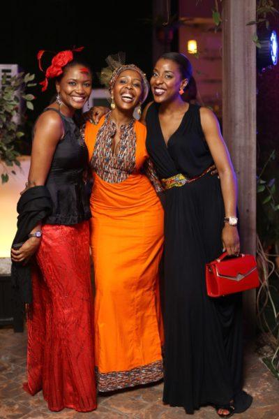Onah Nwachukwu, Mpho Laing & Funmi St. Matthew Daniel