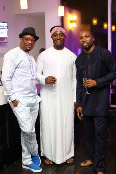 Fred Eze, Obinna Chinkata and Segun