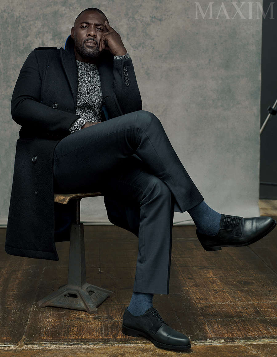 Idris Elba for Maxim Magazine - BellaNaija - August2015001