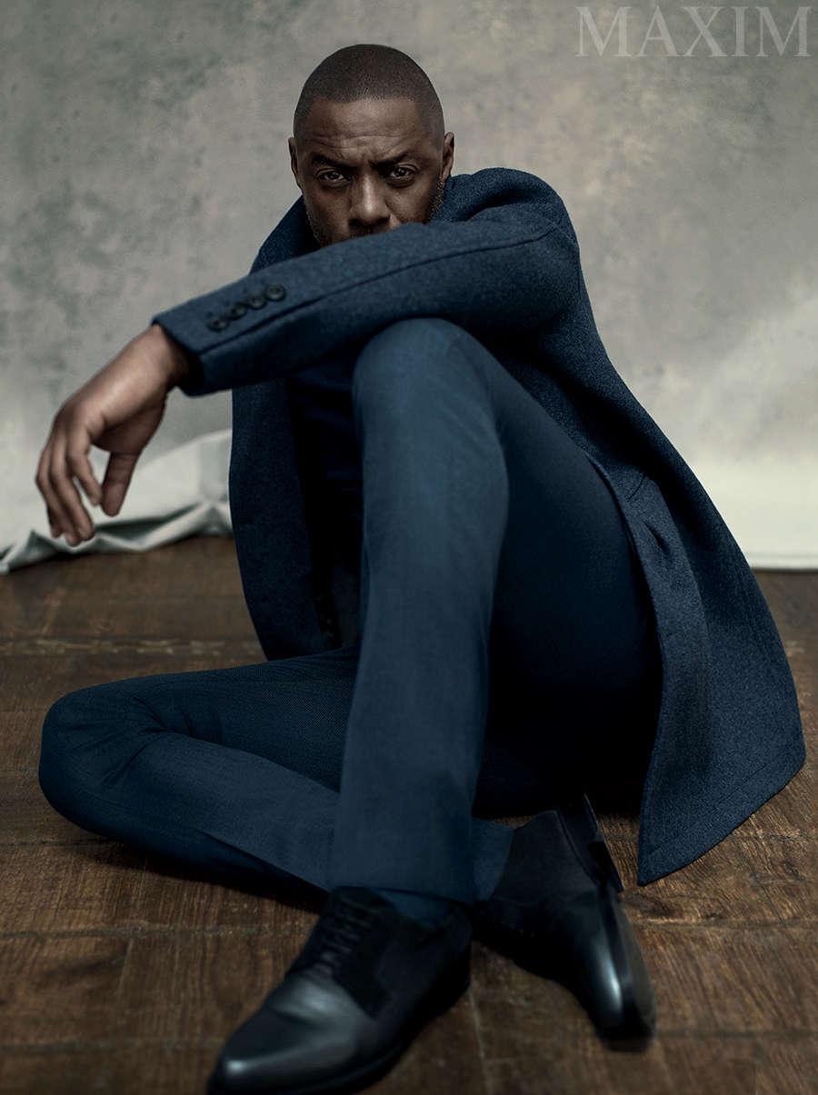 Idris Elba for Maxim Magazine - BellaNaija - August2015002