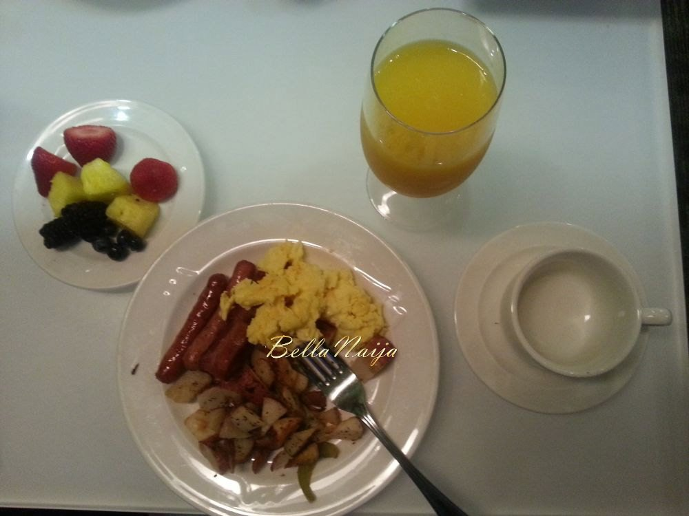 I miss my hotel breakfasts!
