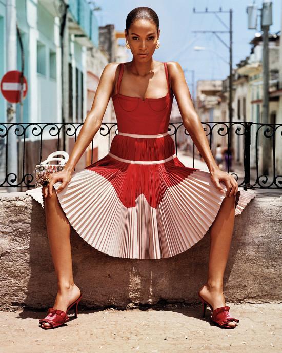 Joan Smalls and Adriana Lima for W Magazine - BellaNaija - August2015001