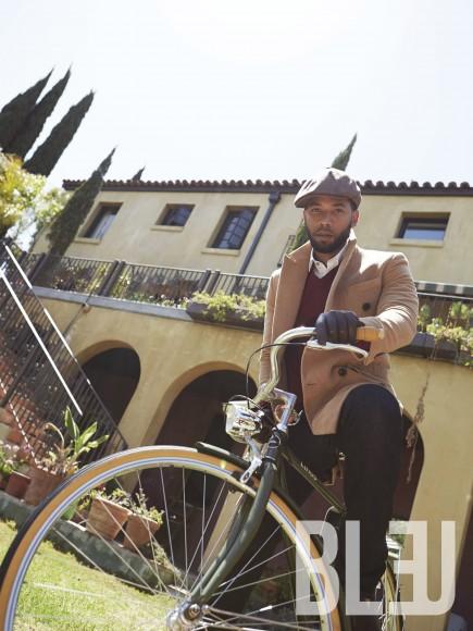 Jussie Smollett for Bleu Magazine - BellaNaija - August2015006
