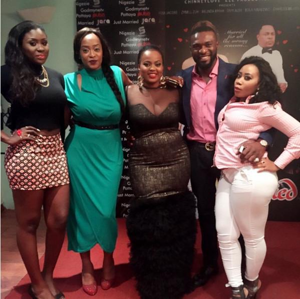 Keira Hewatch, Moyo Lawal, Kenneth Okolie, Chinney Eze