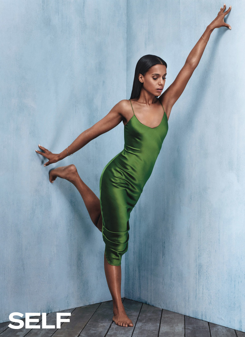 Kerry Washington for SELF Magazine September 2015 - BellaNaija - August2015