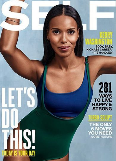 Kerry Washington for SELF Magazine September 2015 - BellaNaija - August2015001
