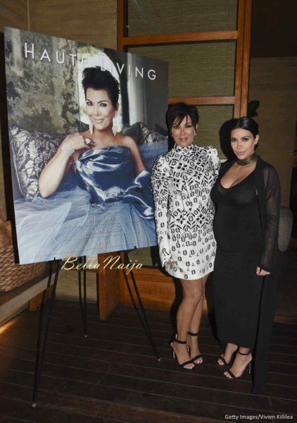 Kris Jenner & Kim Kardashian West