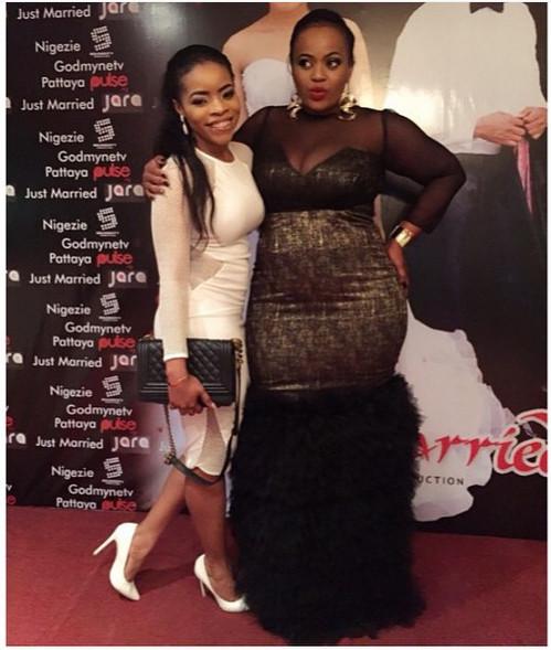 Laura Ikeji & Chinney Eze
