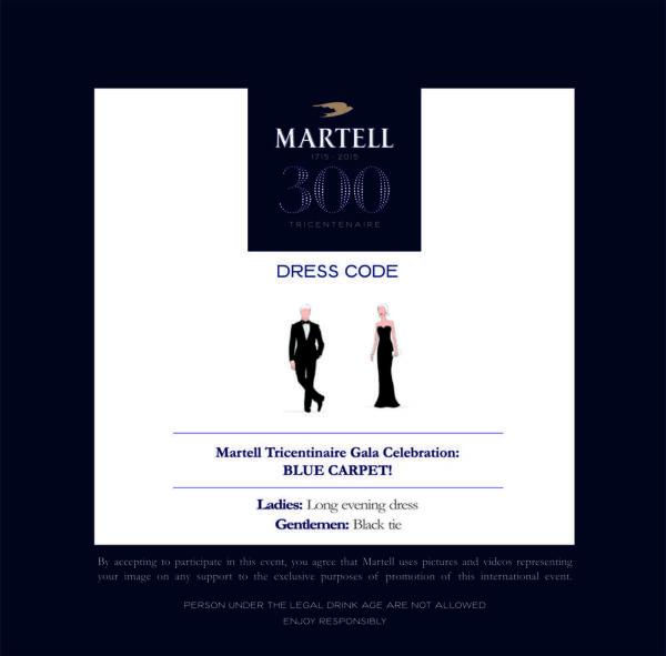 MARTELL - DRESS CODE