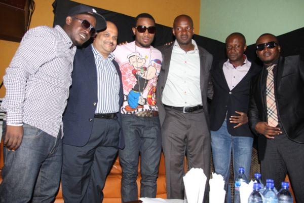 MI, Rajan Swaroop,Dbanj,Alex Okosi, Obinna Aniche,Eldee at MAMA 2010