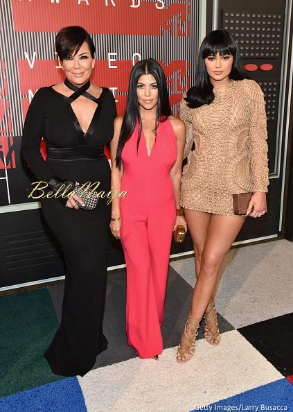 Kris Jenner, Kourtney Kardashian & Kylie Jenner