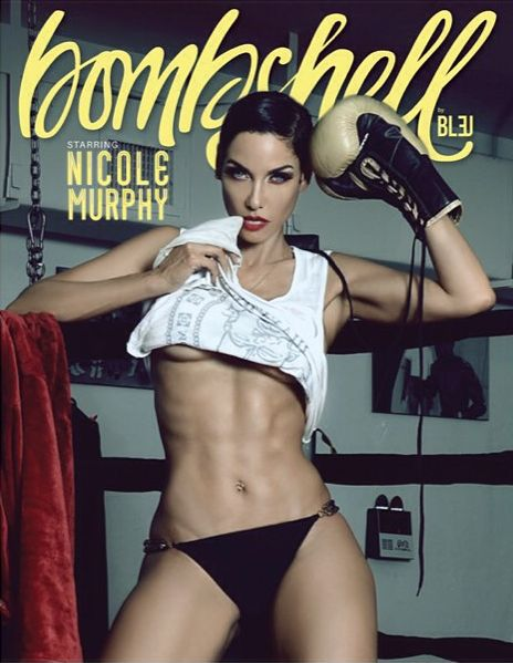 Nicole Murphy for Bombshell Magazine - BellaNaija - August 2015006