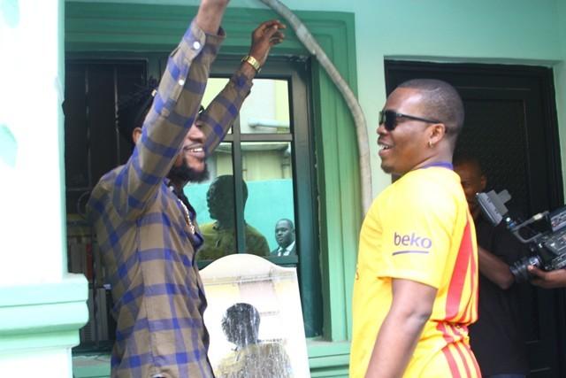 Olamide Surprises his Made of Black Hero