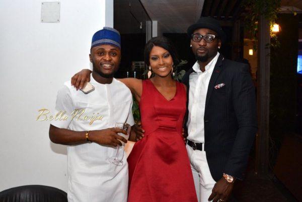 "All the Photos! Ubi Franklin, Freda Francis, Gbemi Olateru-Olagbegi & More Attend ""Gbenro & Osas' Thank You Soirée"""